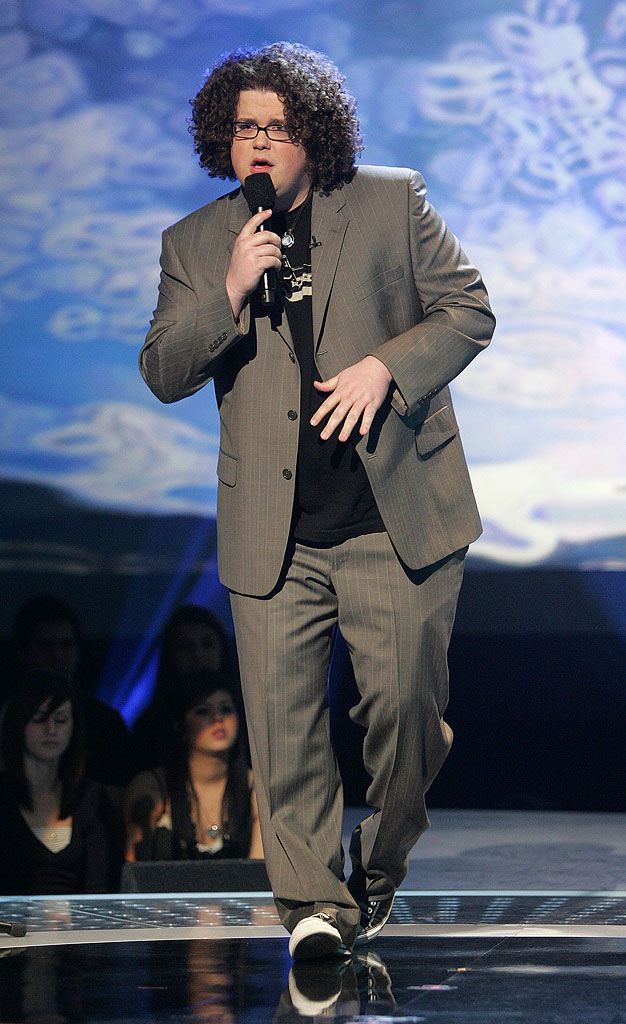 Chris Sligh performs on the 6th season of American Idol.
