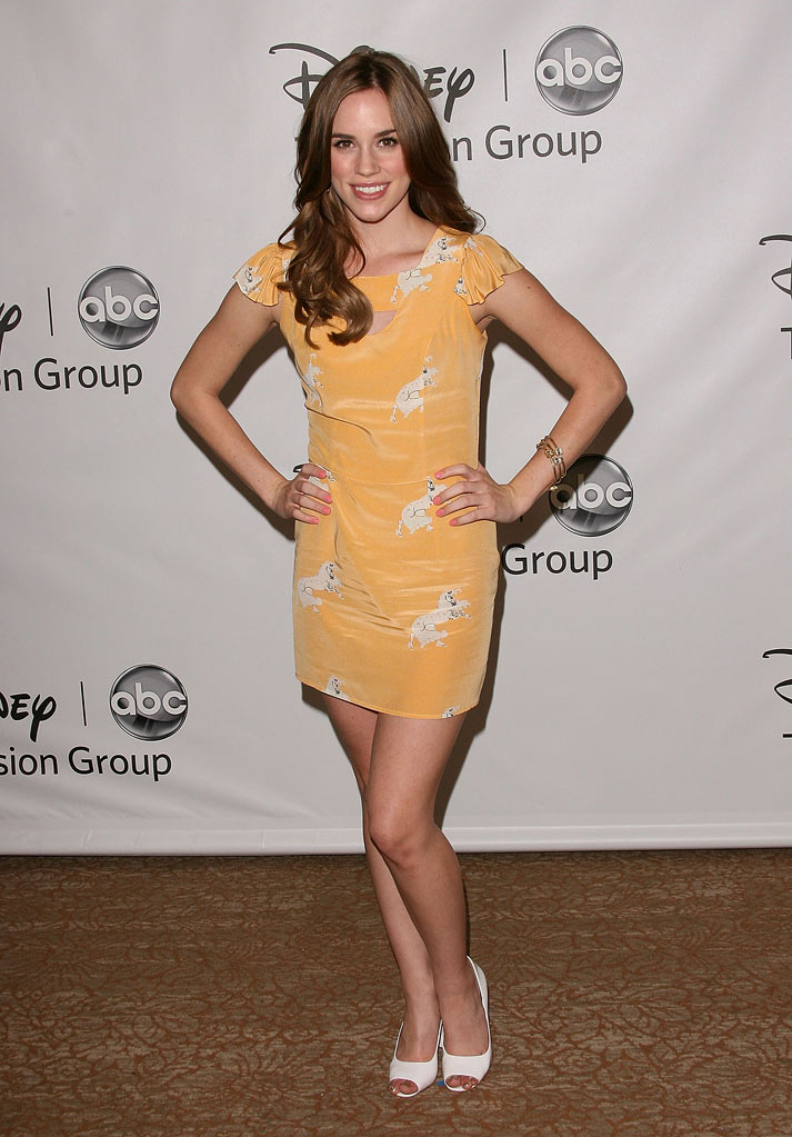 "Christa B. Allen of ""Revenge"" attends the Disney ABC Televison Group's 'TCA 2001 Summer Press Tour' at the Beverly Hilton Hotel on August 7, 2011 in Beverly Hills, California."