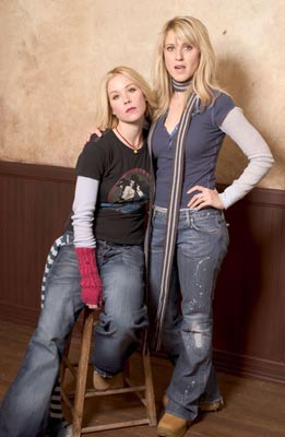 "Christina Applegate and Andrea Bendewald ""Employee of the Month"" - 1/16/2004 Sundance Film Festival"