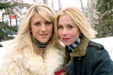"Andrea Bendewald and Christina Applegate ""Employee of the Month"" - 1/16/2004 Sundance Film Festival"