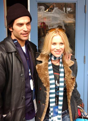 "Johnathon Schaech and Christina Applegate ""Employee of the Month"" - 1/16/2004 Sundance Film Festival"