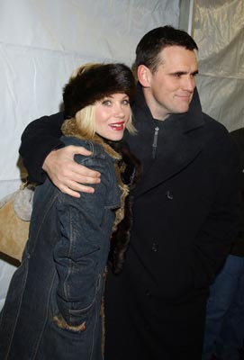 "Christina Applegate and Matt Dillon ""Employee of the Month"" - 1/16/2004 Sundance Film Festival"