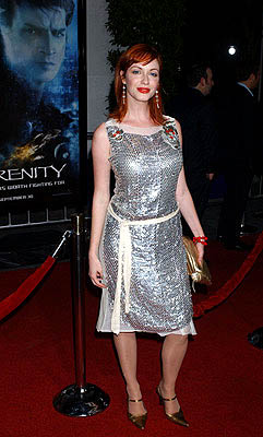 Premiere: Christina Hendricks at the LA premiere for Universal Pictures' Serenity - 9/22/2005