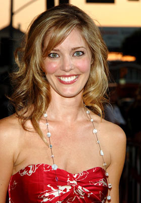 Premiere: Christina Moore at the Hollywood premiere of Universal Pictures' The 40-Year-Old Virgin - 8/11/2005