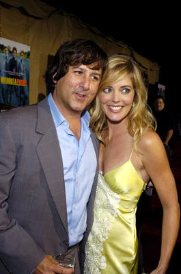 Premiere: Director Steven Brill and Christina Moore at the Los Angeles premiere Paramount Pictures' Without a Paddle - 8/16/2004