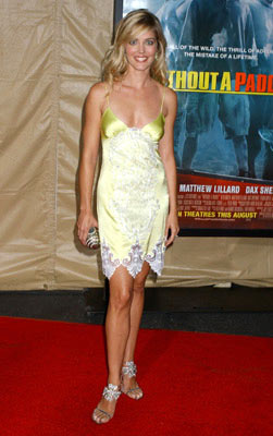 Premiere: Christina Moore at the Los Angeles premiere Paramount Pictures' Without a Paddle - 8/16/2004