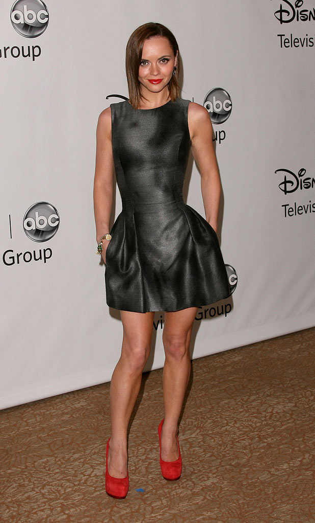 "Christina Ricci of ""Pan Am""attends the Disney ABC Televison Group's 'TCA 2001 Summer Press Tour' at the Beverly Hilton Hotel on August 7, 2011 in Beverly Hills, California."