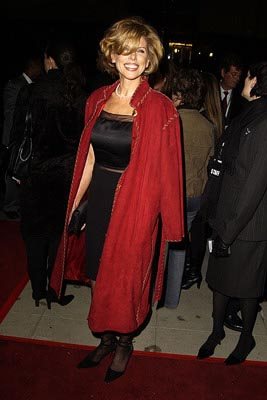 Premiere: Christine Baranski at the LA premiere of Miramax's Chicago - 12/10/2002
