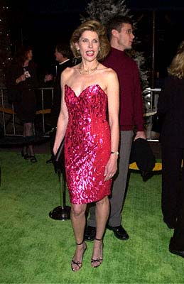 Premiere: Christine Baranski at the Universal Amphitheatre premiere of Universal's Dr. Seuss' How The Grinch Stole Christmas - 11/8/2000