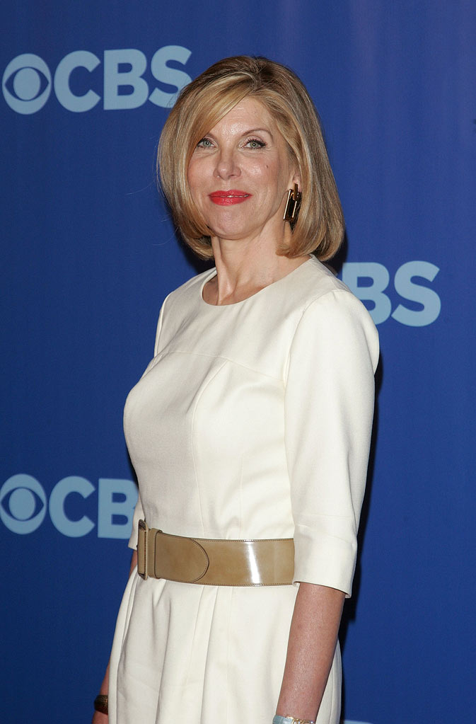 "Christine Baranski (""The Good Wife"") attends the 2010 CBS Upfront at The Tent at Lincoln Center on May 19, 2010 in New York City."