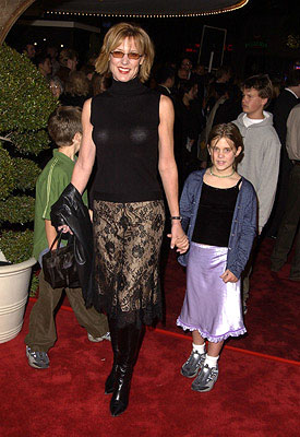 Premiere: Christine Lahti and family at the Westwood premiere of Warner Brothers' Harry Potter and The Sorcerer's Stone - 11/14/2001