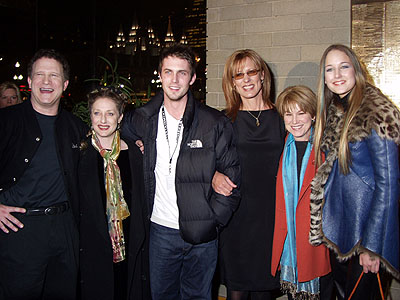Albert Brooks, Carol Kane, Desmond Harrington, Christine Lahti, Mary Kay Place and Leelee Sobieski, the cast of My First Mister Sundance Film Festival Opening Night Gala 1/18/2001