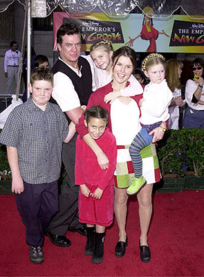 Premiere: Christopher McDonald and his magnificent brood at the Hollywood premiere of Walt Disney's The Emperor's New Groove - 12/10/2000 Christopher McDonald