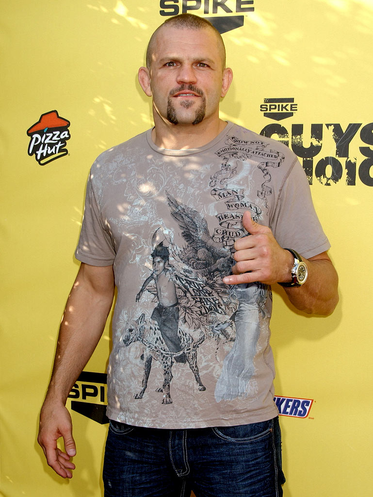 "Chuck Liddell at Spike TV's ""Guys Choice"" Awards."