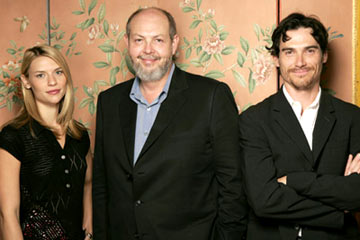 Claire Danes, writer Jeffrey Hatcher and Billy Crudup 2004 Toronto International Film Festival - Stage Beauty Portraits