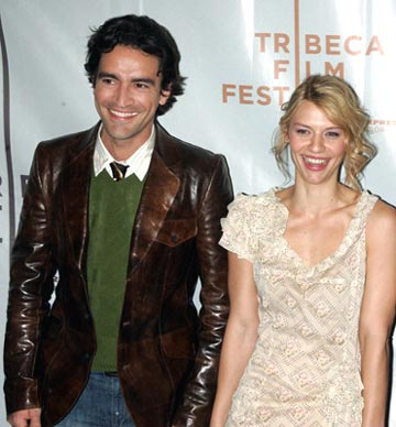 Ben Chaplin and Claire Danes Tribeca Film Festival, May 8, 2004
