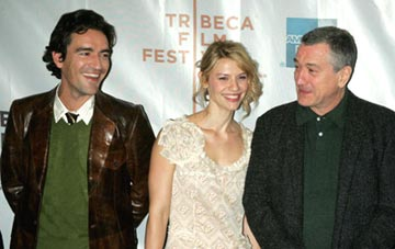 Ben Chaplin, Claire Danes and Robert De Niro Tribeca Film Festival, May 8, 2004
