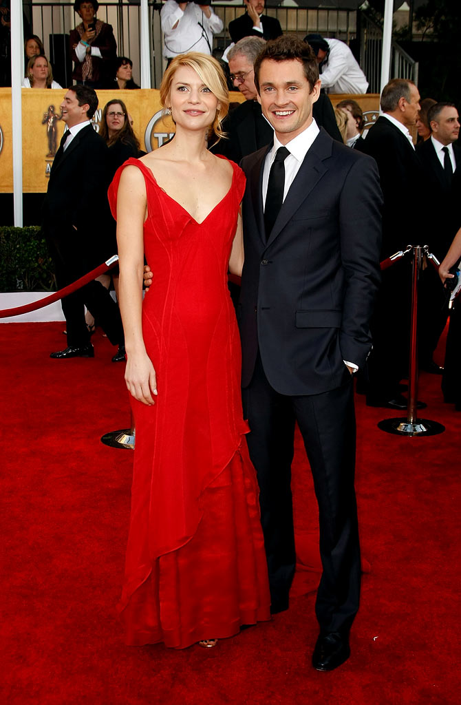 Claire Danes and Hugh Dancy arrives at the 15th Annual Screen Actors Guild Awards held at the Shrine Auditorium on January 25, 2009 in Los Angeles, California.