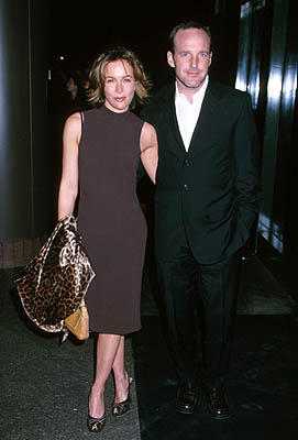 Premiere: Jennifer Grey and Clark Gregg at the Los Angeles premiere of Fine Line's State and Main - 12/18/2000