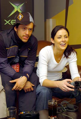 Clifton Collins Jr. and Summer Altice 1/18/2004 Sundance Film Festival