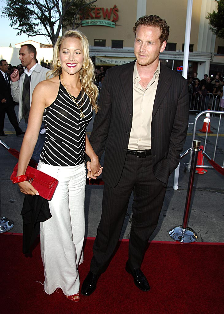 "Cynthia Daniel and Cole Hauser of K-VILLE  at ""The Break Up"" Los Angeles Premiere."