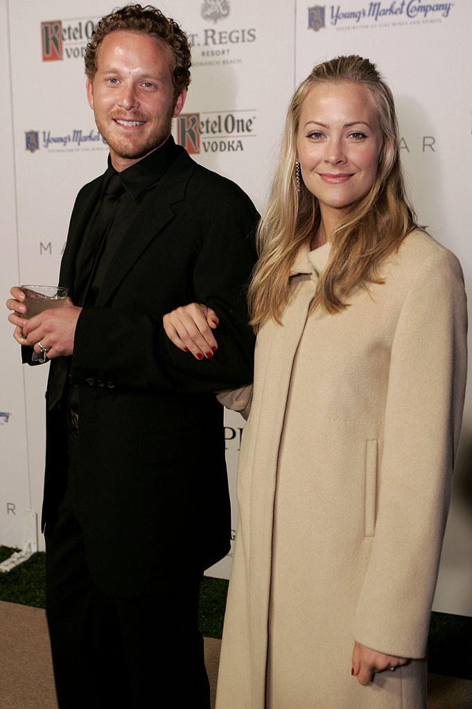 "Cole Hauser of K-VILLE and wife Cynthia Daniel at the St. Regis Resort, Monarch Beach Hosts ""Chateau M""."