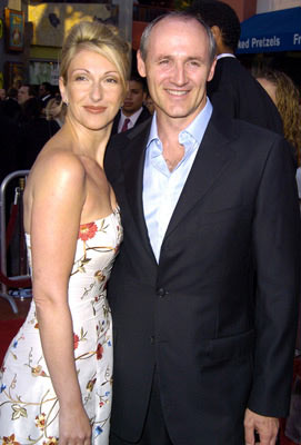 Premiere: Colm Feore and wife Donna at the L.A. premiere of Universal's The Chronicles of Riddick - 6/3/2004