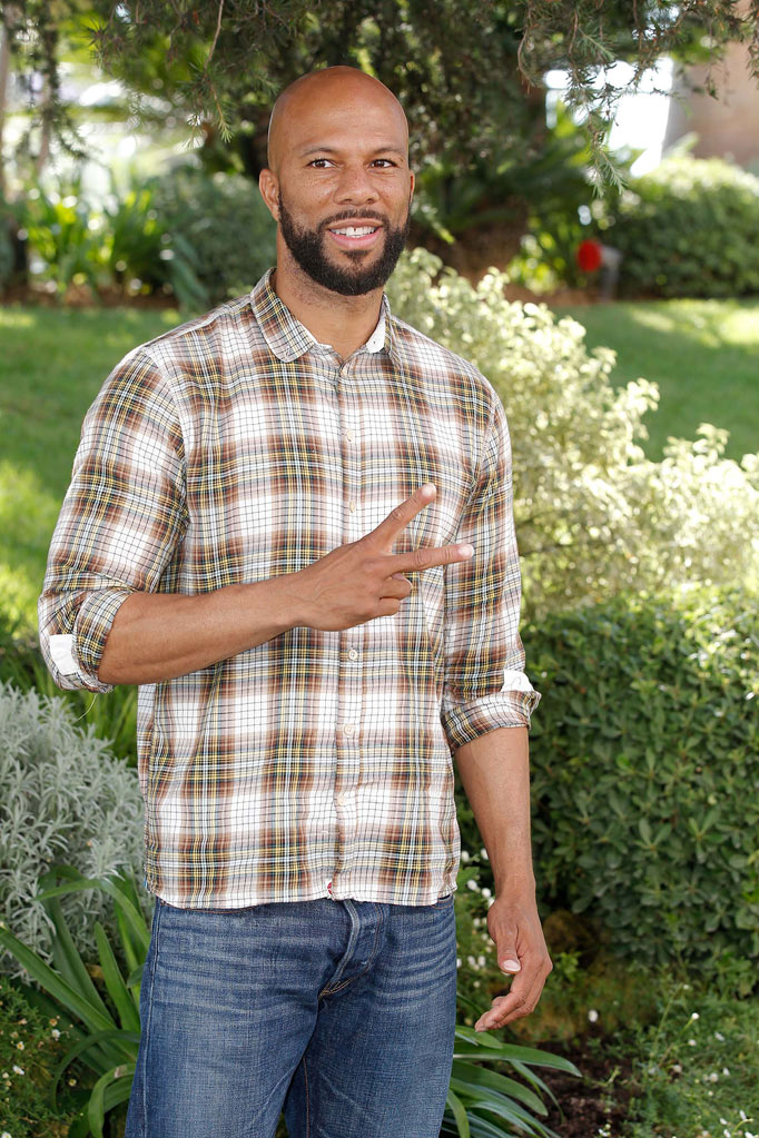 "Common posing for ""Hell On Wheels"" photocall as part of MIPCOM 2011 at Hotel Majestic on October 3, 2011 in Cannes, France."