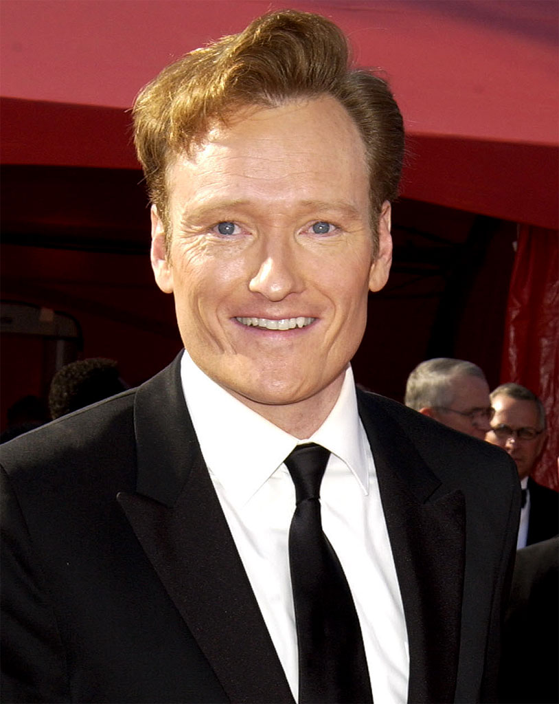 Conan O'Brien at The 55th Annual Primetime Emmy Awards on September 21, 2003
