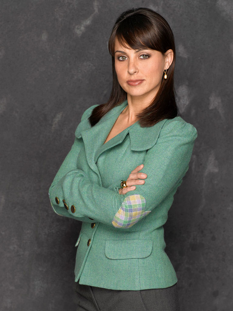 Constance Zimmer stars as Claire Simms in Boston Legal on ABC.