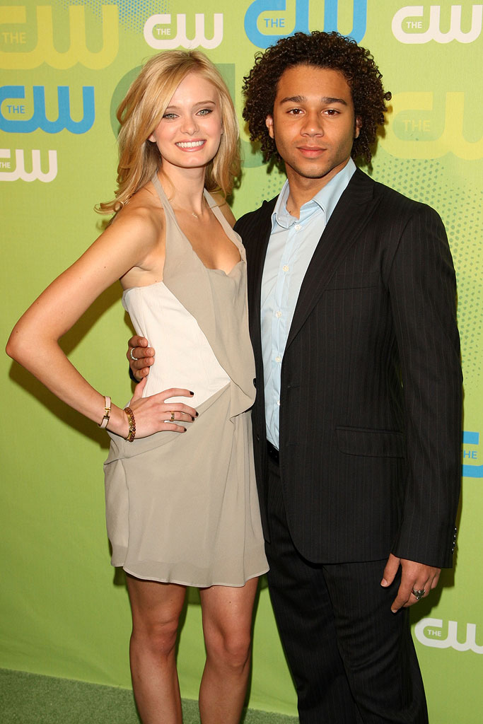 Sara Paxton and Corbin Bleu attend the 2009 The CW Network UpFront at Madison Square Garden on May 21, 2009 in New York, New York.