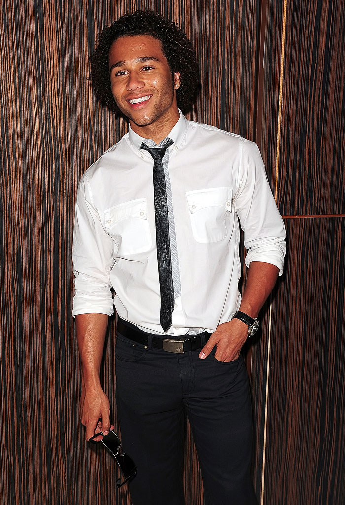 Corbin Bleu arrives at Liv Nightclub at the Fontainbleau Miami Beach on June 12, 2009 in Miami, Florida.