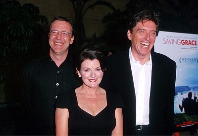 Premiere: Nigel Cole, Brenda Blethyn and Craig Ferguson at the Egyptian Theatre premiere of Fine Line's Saving Grace - 8/2/2000