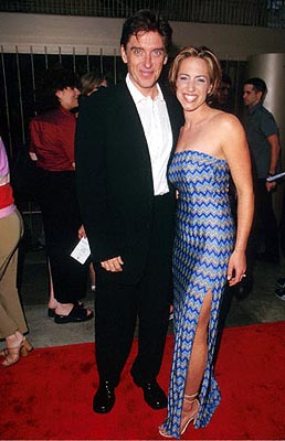 Premiere: Craig Ferguson and his wife Sasha at the Egyptian Theatre premiere of Fine Line's Saving Grace - 8/2/2000