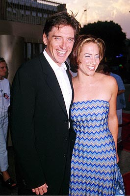 Premiere: Craig Ferguson with his wife Sasha at the Egyptian Theatre premiere of Fine Line's Saving Grace - 8/2/2000