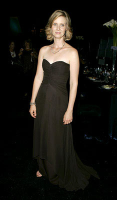 Cynthia Nixon Governor's Ball Emmy Awards - 9/18/2005