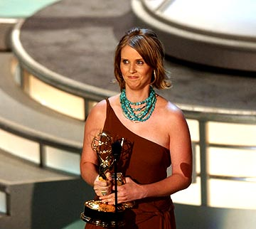 "Cynthia Nixon of ""Sex and the City"" Outstanding Supporting Actress in a Comedy Series Emmy Awards - 9/19/2004"
