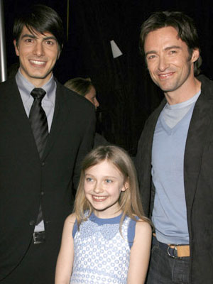 Brandon Routh, Dakota Fanning and Hugh Jackman 2006 ShoWest Awards Las Vegas, NV - 3/16/2006