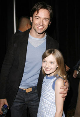 Hugh Jackman and Dakota Fanning 2006 ShoWest Awards Las Vegas, NV - 3/16/2006