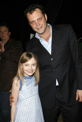 Dakota Fanning and Vince Vaughn 2006 ShoWest Awards Las Vegas, NV - 3/16/2006