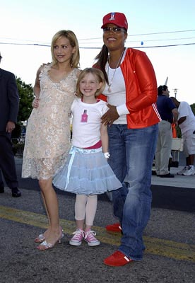 Brittany Murphy, Dakota Fanning, Queen Latifah Teen Choice Awards - 7/2/2003