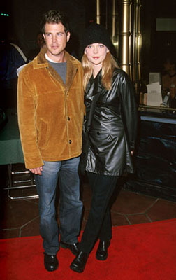 Premiere: Dan Montgomery and Marisa Coughlan at the Hollywood premiere of Dimension's Reindeer Games at the El Capitan Theatre - 2/21/2000