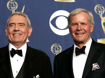 Honorees Dan Rather and Tom Brokaw 57th Annual Emmy Awards Press Room - 9/18/2005