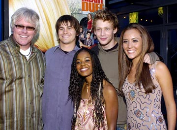 Premiere: Director Sean McNamara, Jason Ritter, Dana Davis, Johnny K. Lewis and Lauren C. Mayhew at the Los Angeles premiere of New Line Cinema's Raise Your Voice - 10/3/2004