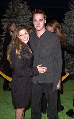 Premiere: Danielle Fishel and Devon Sawa at the Universal Amphitheatre premiere of Universal's Dr. Seuss' How The Grinch Stole Christmas - 11/8/2000