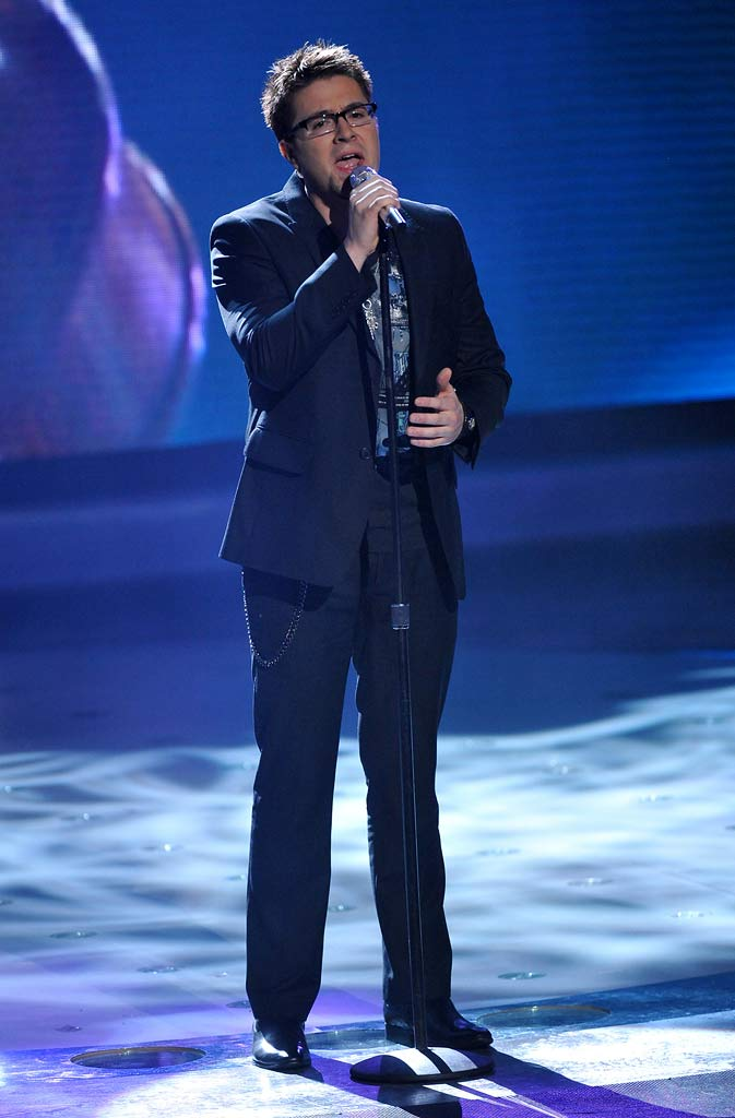 "Danny Gokey performs ""What Hurts the Most"" by Rascal Flatts on ""American Idol."""