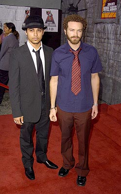 Them 70s Kids Wilmer Valderrama and Danny Masterson MTV Movie Awards - 6/5/2004