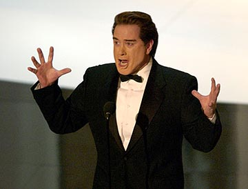 Darrell Hammond as Arnold Schwarzenegger 55th Annual Emmy Awards - 9/21/2003