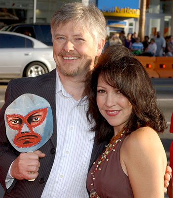 Premiere: Dave Foley with Crissy Guerrero at the Hollywood premiere of Paramount Pictures' Nacho Libre - 6/12/2006