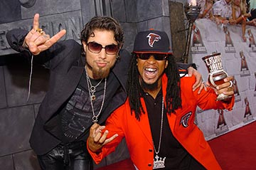 Dave Navarro and Lil' Jon are both well-schooled in the power of rock. MTV Movie Awards - 6/5/2004